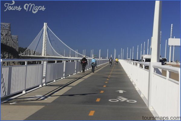bay bridge trail EAST SPAN, BAY BRIDGE MAP