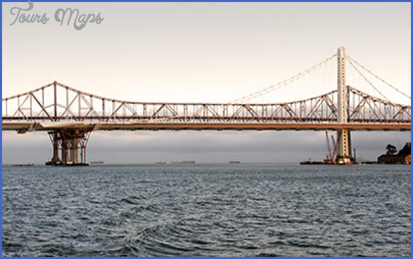 bay bridge east spans landscape thumb EAST SPAN, BAY BRIDGE MAP