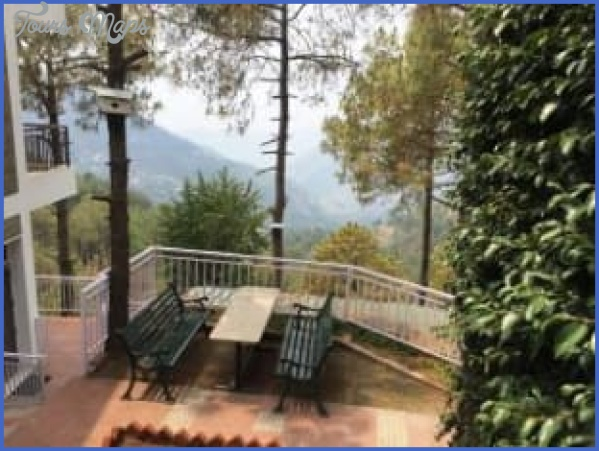 blossom resort kasauli out door seating space 127877321152 srp Few Useful Facts Associated With The Hotels In Kasauli