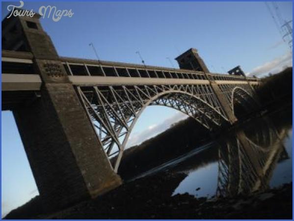 britannia bridge circular reflection 250px BRITANNIA BRIDGE MAP