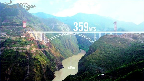 chenab bridge map 1 CHENAB BRIDGE MAP