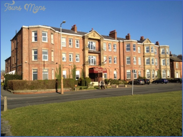 clifton arms hotel 1 Make Holiday Stay Luxurious And Memorable Holiday Apartments Lytham