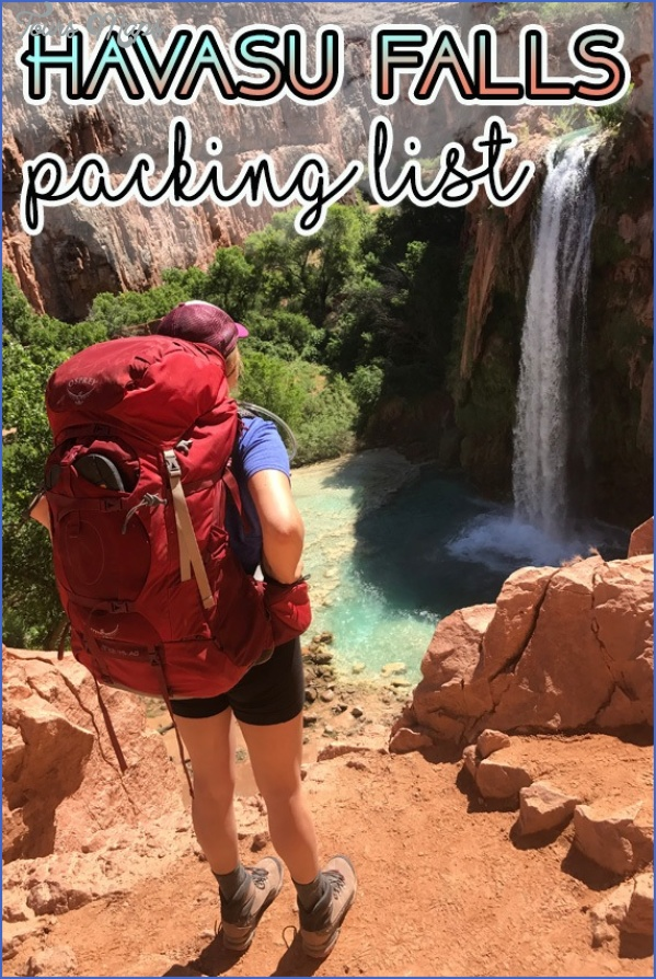 complete havasu falls packing list What To Pack For Your Fall Hiking Adventure