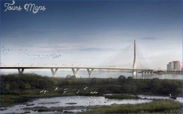 danjiang bridge taipei visualarch 02 1439575211 DANJIANG BRIDGE MAP