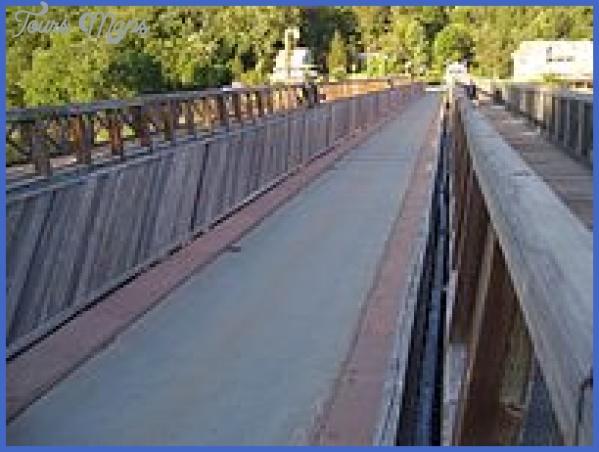 delaware aqueduct bridge map oldest extant suspension bridge map in america 8 DELAWARE AQUEDUCT BRIDGE MAP OLDEST EXTANT SUSPENSION BRIDGE MAP IN AMERICA