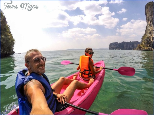 how much does it cost to travel in thailand kayaking 1024x768 How to Cut the Cost of travelling