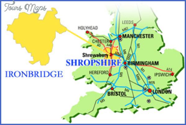 ironbridge map IRON BRIDGE MAP