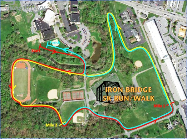 ironbridgerunmaplarge IRON BRIDGE MAP