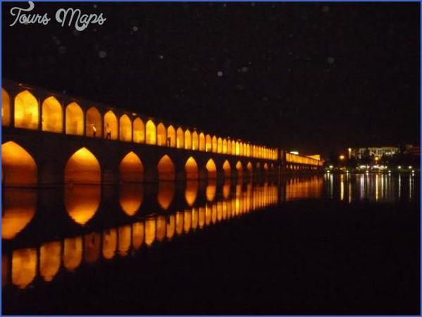 khaju bridge in isfahan KHAJU BRIDGE MAP BRIDGE MAP
