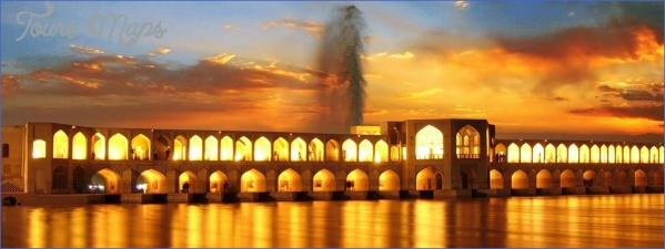 khaju isfahan KHAJU BRIDGE MAP BRIDGE MAP