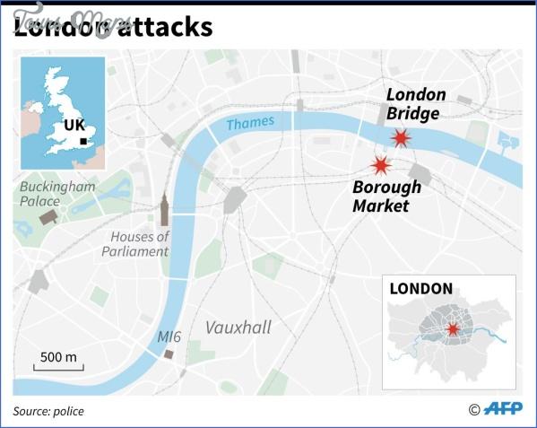 london bridge attack LONDON BRIDGE MAP