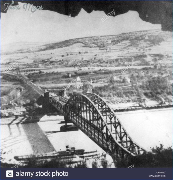 ludendorff bridge at remagen cphrb7 LUDENDORFF BRIDGE MAP