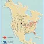 mammoths north america map 150x150 CATASTROPHE BRIDGE MAP