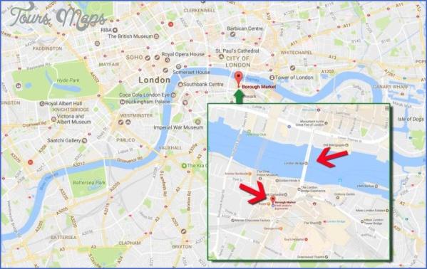 map london 0603 LONDON BRIDGE MAP