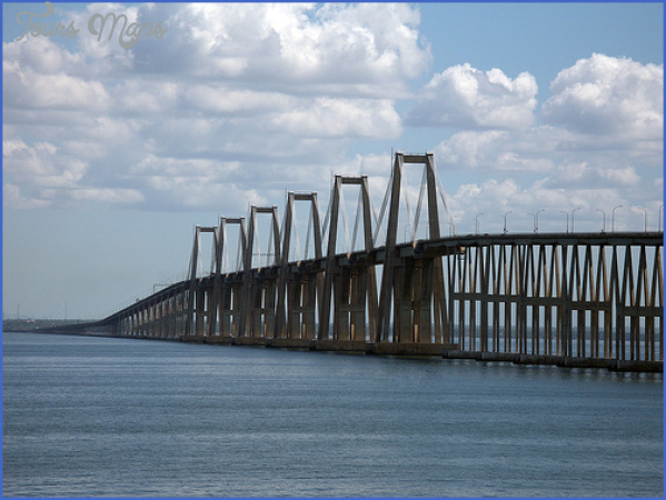 maracaibo bridge LAKE MARACAIBO BRIDGE MAP
