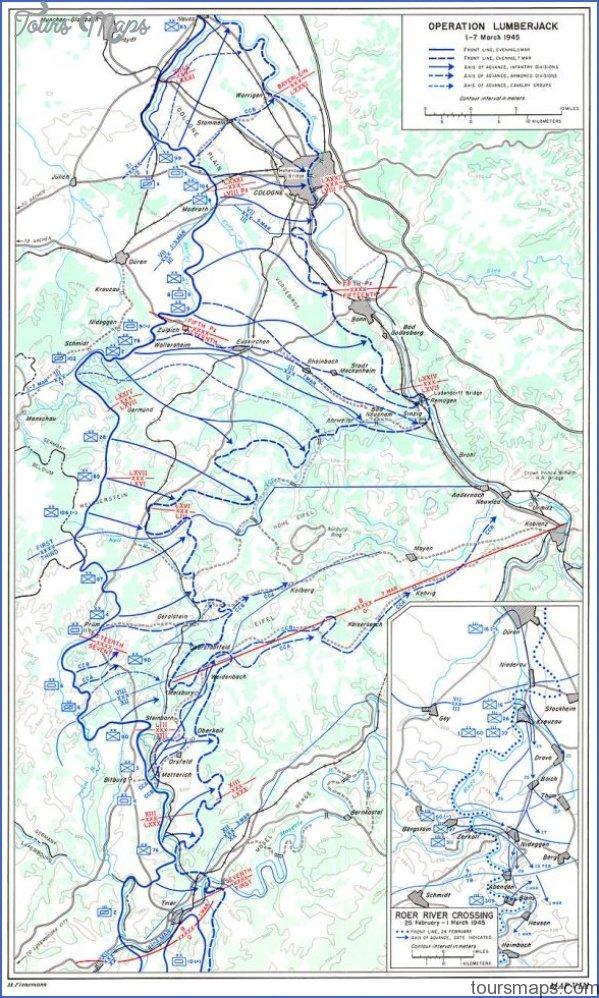 operation lumberjack map w584h976 LUDENDORFF BRIDGE MAP