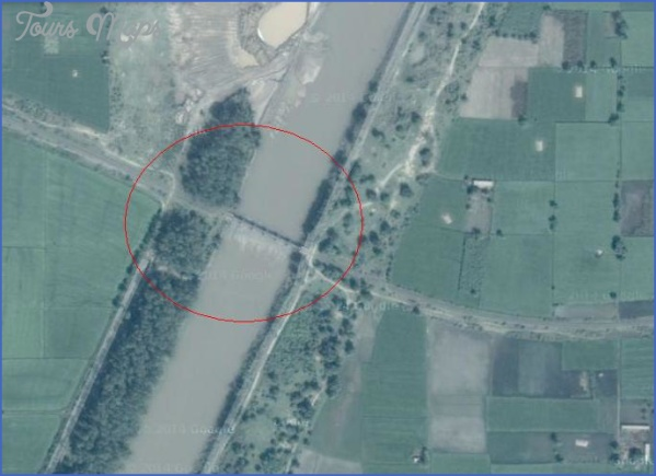 satellite map bridge on lower chenab canal jamke chatha gujranwala CHENAB BRIDGE MAP