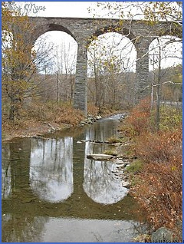 starrucca viaduct bridge map 0 STARRUCCA VIADUCT BRIDGE MAP