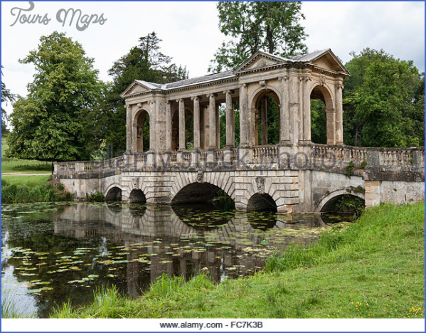 stowe palladian bridge and lake buckinghamshire england uk fc7k3b PALLADIAN BRIDGE MAP