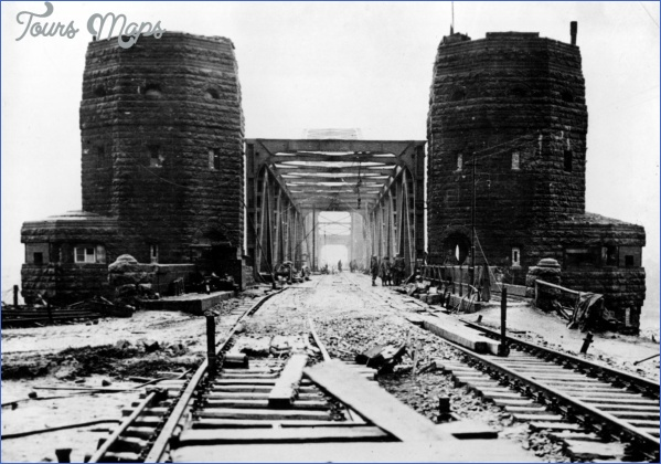 us troops germany remagen world war ii LUDENDORFF BRIDGE MAP