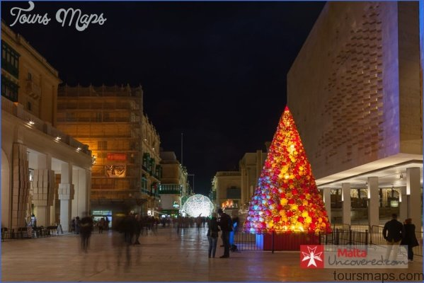 valletta christmas tree The Cultural Origins of Maltas Christmas Traditions