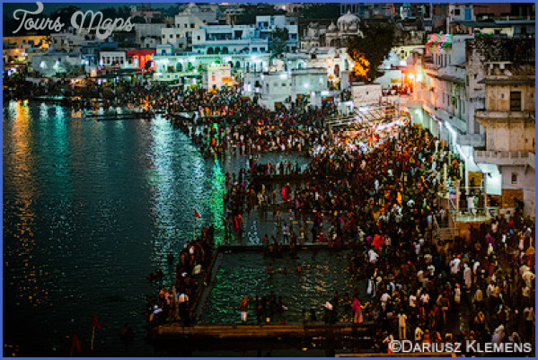 pushkar camel fair 2018 and pushkar lake aarti ceremony on ghats steps india  1 Pushkar Camel Fair 2018 and Pushkar Lake Aarti Ceremony on Ghats steps India