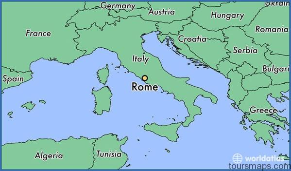 11886 rome locator map Map of Rome Italy