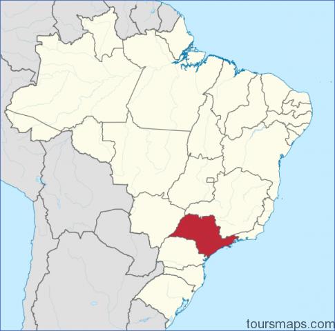 1200px sao paulo in brazil svg Sao Paulo Brazil Map