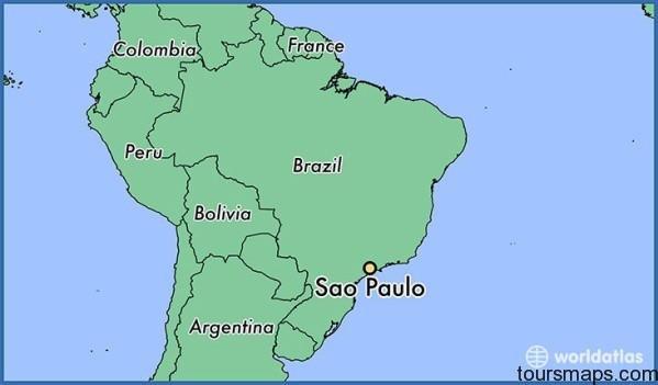 1510 sao paulo locator map Sao Paulo Brazil Map
