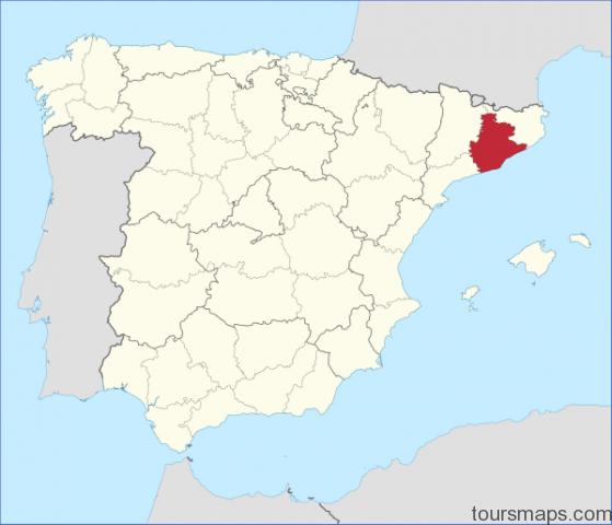 2000px barcelona in spain svg Map of Barcelona Spain