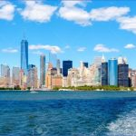 66299016 the lower manhattan skyline in new york city seen from the ocean on a sunny summer day 150x150 A DAY in NEW YORK