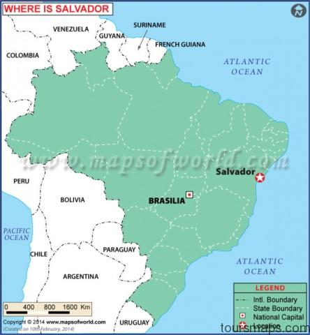 ab8f7 salvador location map Map of Salvador Brazil