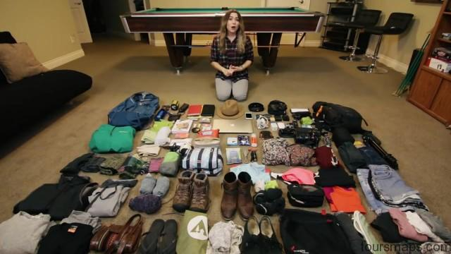 backpacking travel packing guide 003 Backpacking Travel Packing Guide