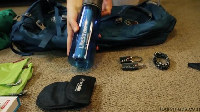 backpacking travel packing guide 015 Backpacking Travel Packing Guide