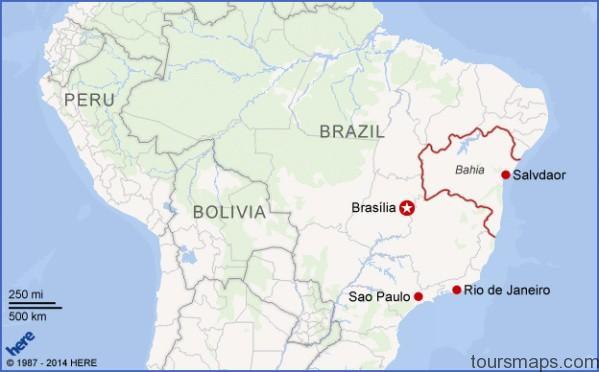 bahia bourdain map Map of Salvador Brazil