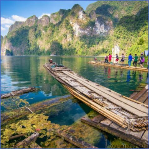 bamboo rafting in khao sok national park ratchaprapha dam suratthani thailand e1486416215248 500x500 THE BEST OF THAILAND   Khao Sok National Park GET HERE NOW