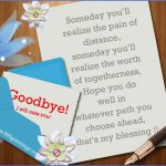 best good bye messages 150x150 SAYING GOODBYE TO MY TRAVEL PARTNER
