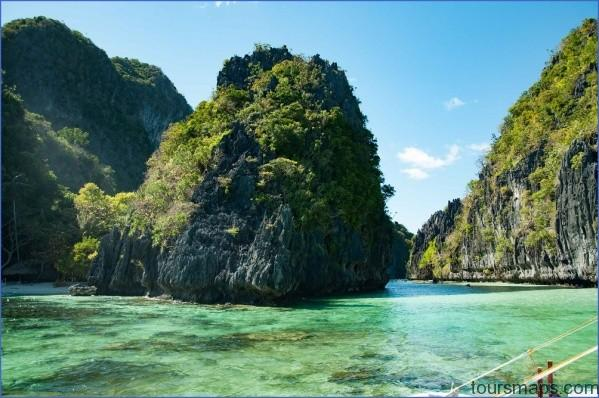 big lagoon turquoise PORT BARTON   THE SECRET HIDEOUT OF PALAWAN