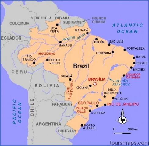 brazil map lonely plant1 Sao Paulo Brazil Map