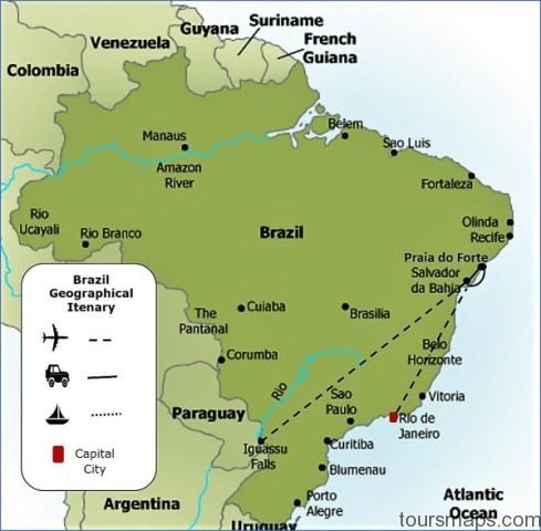 brazil map with legend sslu003d1 Map of Salvador Brazil