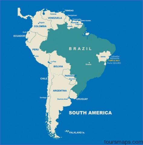 brazil map Map of Salvador Brazil