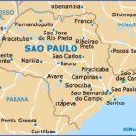 brazil sao paulo state map 150x150 Sao Paulo Brazil Map