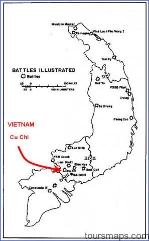 cakmrewgun Map of Cu Chi Vietnam