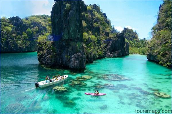 commuting 90cm x60cm MOST BEAUTIFUL PLACE ON EARTH   Coron Philippines