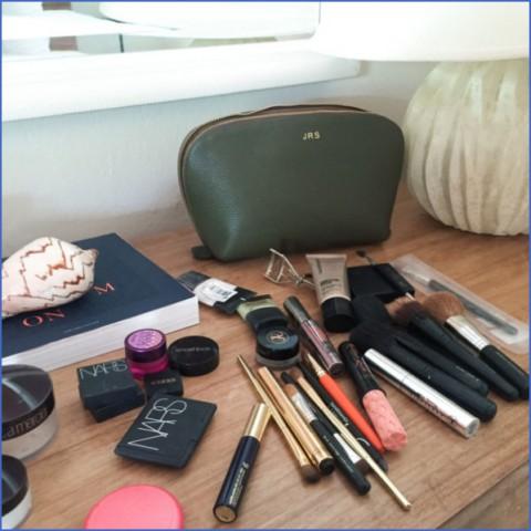 cuyana monogram travel set 600x600 Winter Travel Makeup Routine