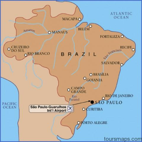 d0affed37c0814bb8c2d3c405c272dfb Sao Paulo Brazil Map