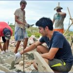 disaster relief building 800 150x150 Working Holidays Volunteering And Studying Abroad