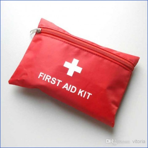 emergency first aid kit bag pack travel sport What To Pack TRAVEL FIRST AID KIT