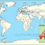 geneva on the world map 150x150 Map of SWITZERLAND Geneva
