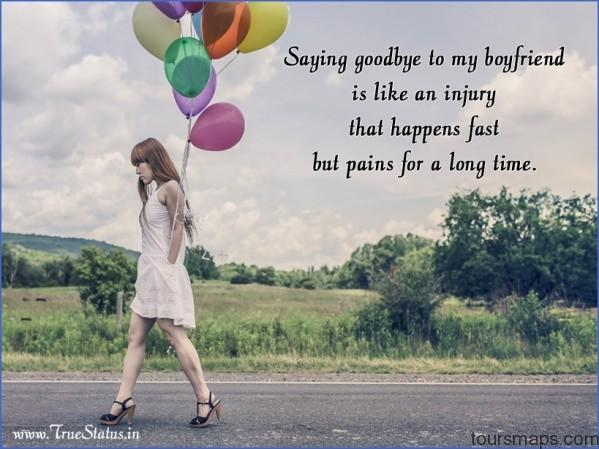good bye sad quote for him with image SAYING GOODBYE TO MY TRAVEL PARTNER